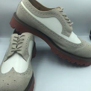 Dr. Martens Suede Men Oxford Shoes